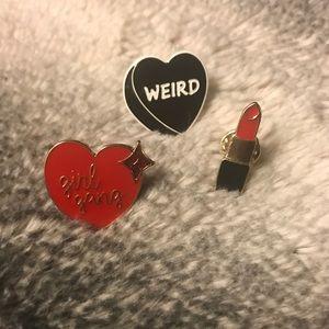 Other - Set of Enamel Pins